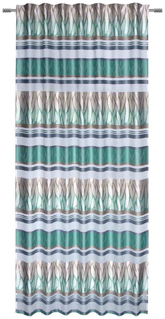 Fertigvorhang Alexandra Jadegrün 140x245cm - Jadegrün, Textil (140/245cm) - Modern Living