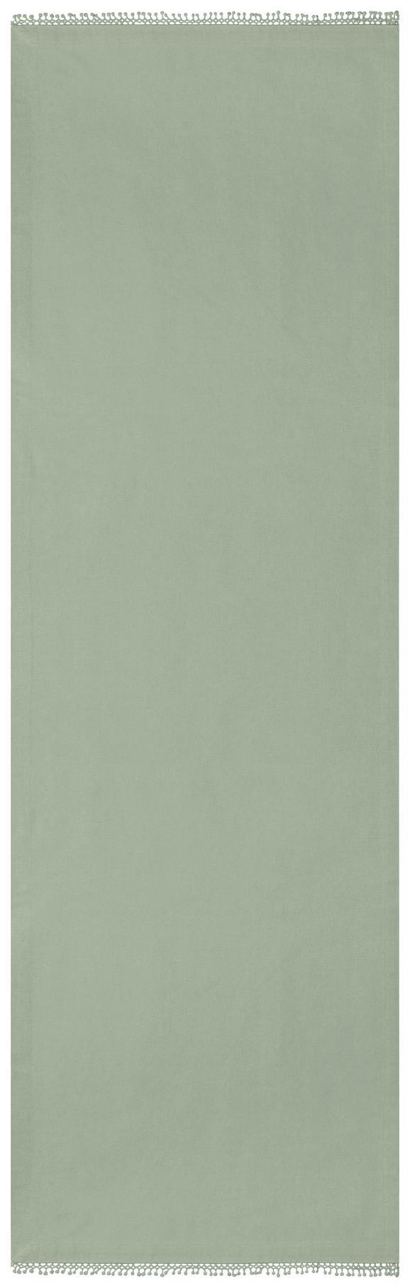 Tischläufer Josefine Grün 45x150cm - Grün, ROMANTIK / LANDHAUS, Textil (45/150cm) - Mömax modern living