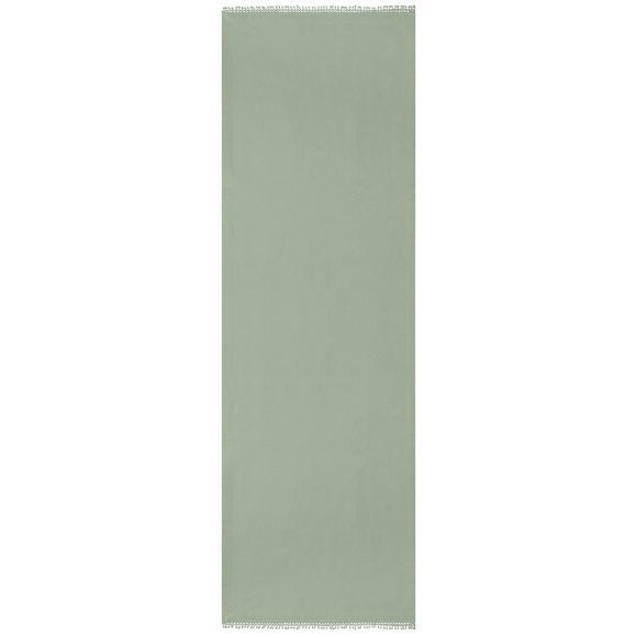 Tischläufer Josefine in Grün ca. 45x150cm - Grün, ROMANTIK / LANDHAUS, Textil (45/150cm) - Mömax modern living