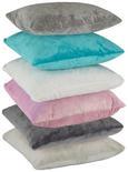 Prevleka Blazine Softplüsch - roza/turkizna, tekstil (40/40cm) - Mömax modern living