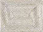 Tischset Florentine in Weiß - Weiß, ROMANTIK / LANDHAUS, Holz (33/45cm) - Zandiara