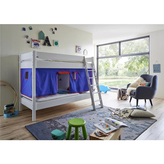 SPIELVORHANG STOFFSET OHNE TURM - Blau/Rot, Design, Textil