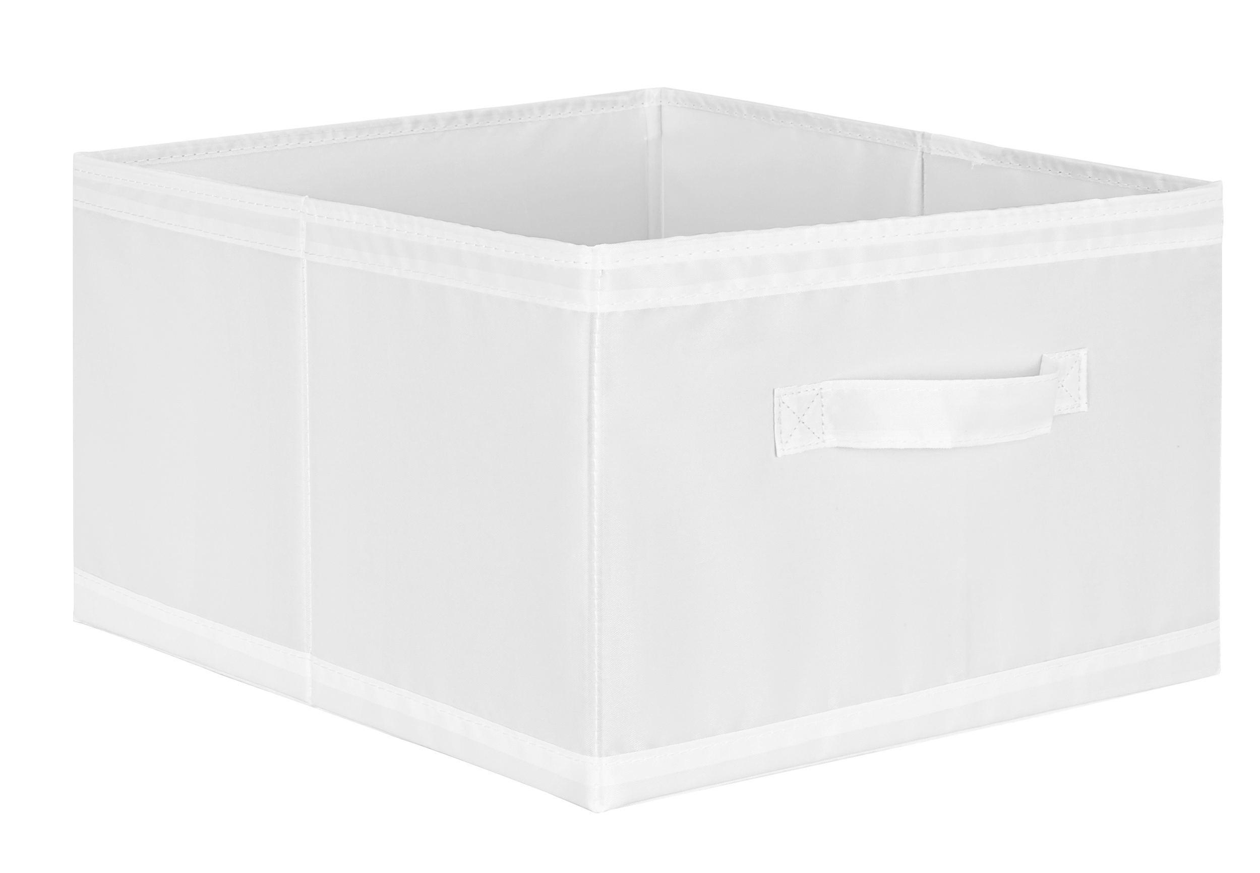Aufbewahrungsbox in Weiß - Weiß, Textil (31/20/33,5cm) - MÖMAX modern living