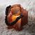 Windlicht Malin Ø/h ca. 14/16 cm - Orange, MODERN, Glas (14/16cm) - Bessagi Home