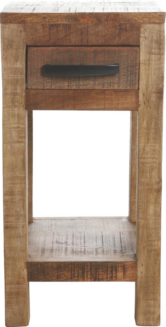 Beistelltisch Naturfarben - Naturfarben, LIFESTYLE, Holz (30/60/32cm) - Zandiara