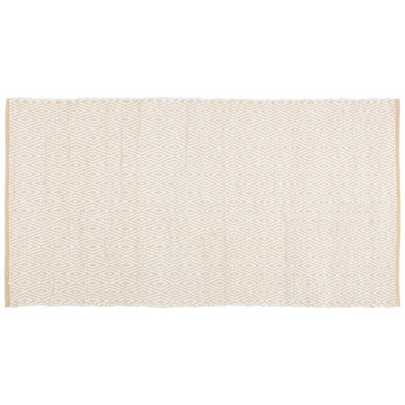Ročno Tkana Preproga Carmen 2 - bež, tekstil (80/150cm) - Mömax modern living