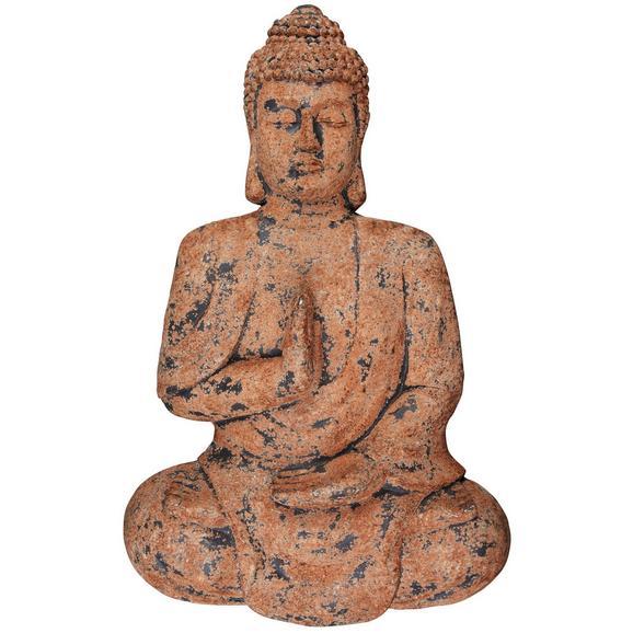 Fali Dekoráció Buddha - Barna/Rozsdavörös, Kő (72/11,5/43cm) - Mömax modern living