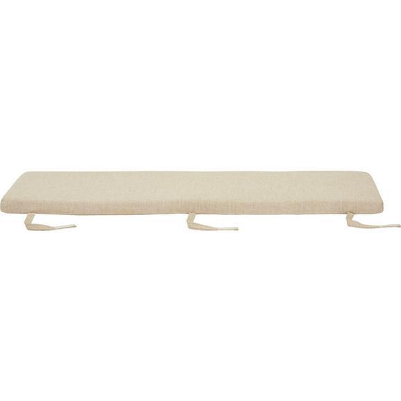 Sitzkissen Industry ca. 140x40x5cm - Beige, LIFESTYLE, Textil (140/40/5cm) - Zandiara