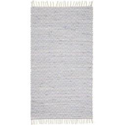 Handwebeteppich Mary Blau, ca. 60x120cm - Blau, ROMANTIK / LANDHAUS, Textil (60/120cm) - Mömax modern living