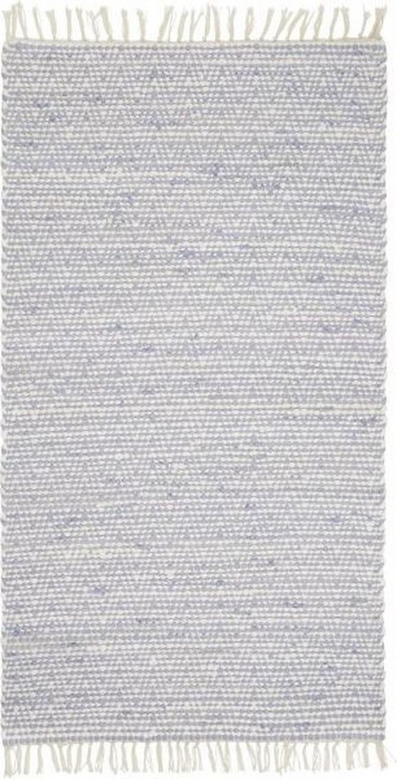 Ročno Tkana Preproga Mary 1 - modra, Romantika, tekstil (60/120cm) - Mömax modern living
