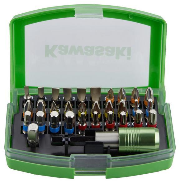 Bitset K-32pcs 603010610 - Schwarz/Grau, KONVENTIONELL, Holzwerkstoff/Metall (10/4/6,5cm)