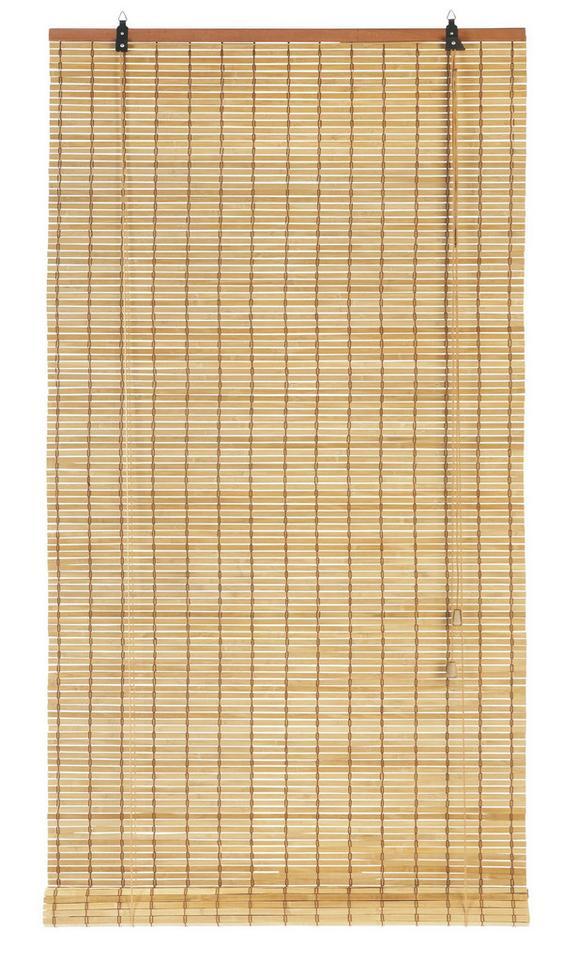 Rollo Woody Braun ca. 80x180cm - Braun, LIFESTYLE, Holz (80/180cm) - Mömax modern living