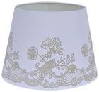 Lámpaernyő Camilla - Fehér, romantikus/Landhaus, Fém/Textil (16,5-20/15,6cm) - Mömax modern living