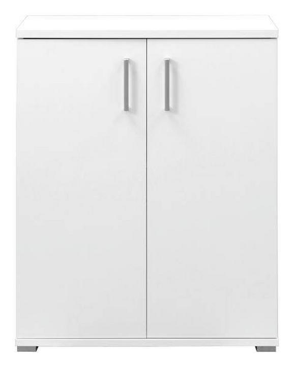 Kommode in Weiß - Weiß, Holz (72/86/37cm)