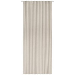 Fertigvorhang Leo Sand 135x255cm - Sandfarben, Textil (135/255cm) - Premium Living