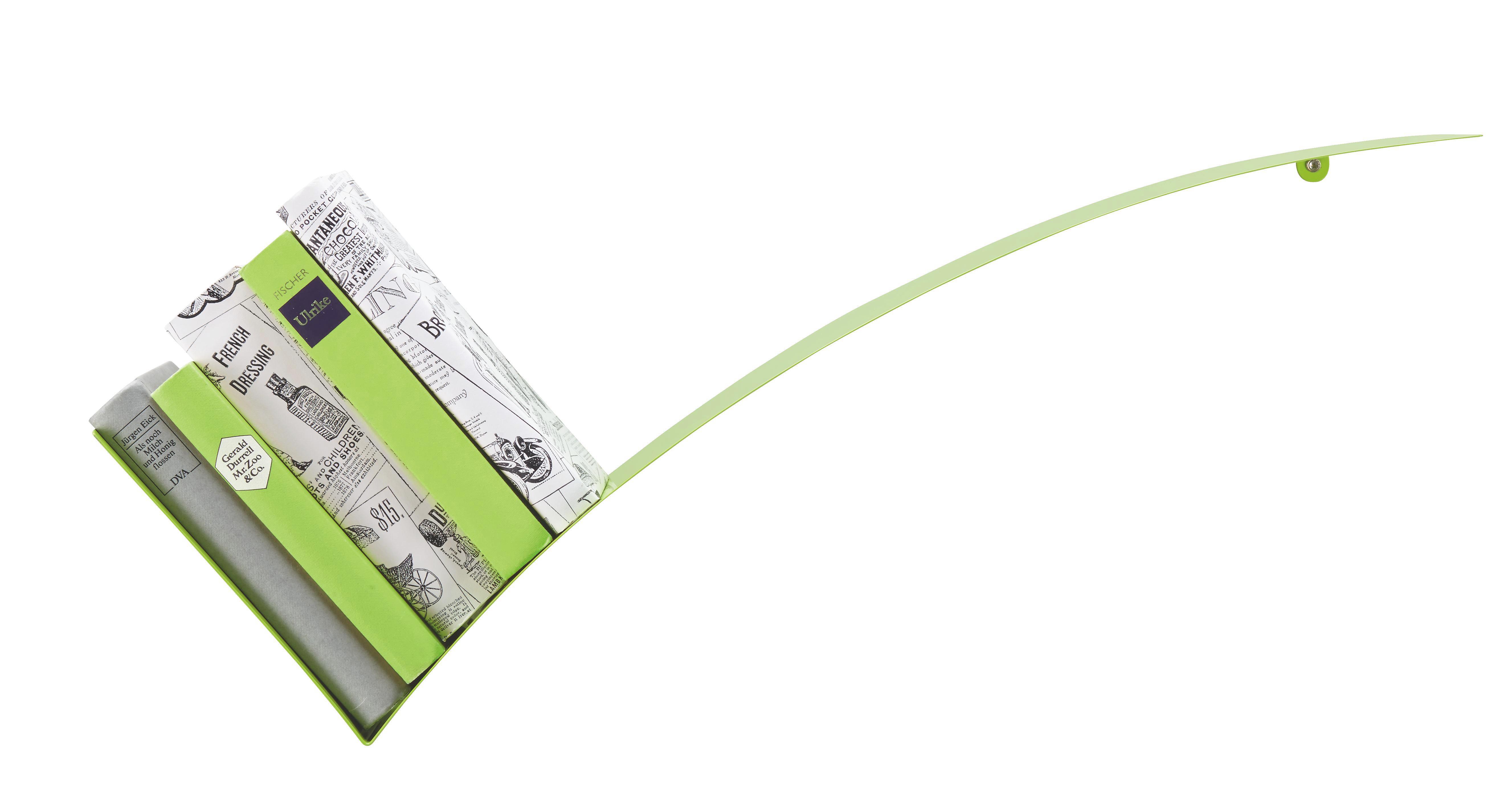 Falipolc Okay - zöld, fém (30/75/18cm) - MÖMAX modern living