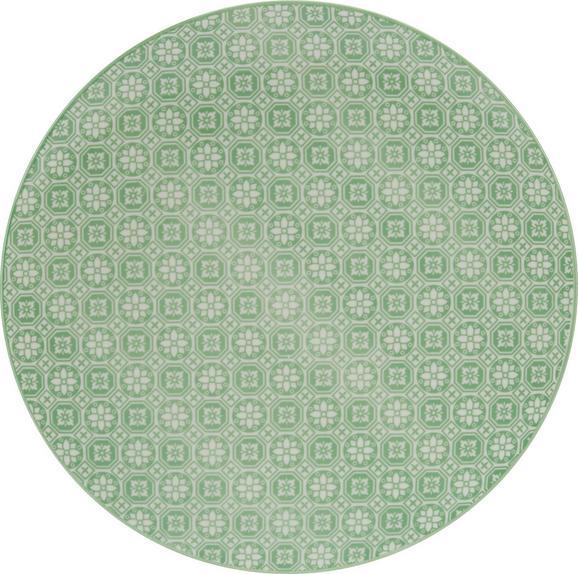 Desertni Krožnik Shakti - večbarvno, Trendi, keramika (21cm) - MÖMAX modern living