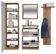Predsoba Pop - bela/hrast, Moderno, leseni material (179/190/32cm) - Mömax modern living