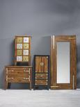 Spiegel Liam ca. 90x190 cm - Braun, KONVENTIONELL, Glas/Holzwerkstoff (90/190/5cm) - Premium Living