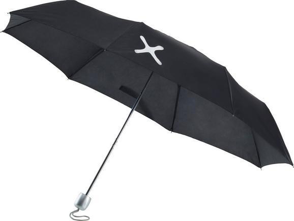 Regenschirm Mömax 4 You in Schwarz - Schwarz, Kunststoff/Metall (53,34cm) - Mömax modern living