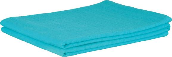 Ágytakaró Solid One - Olajkék, Textil (140/210cm)