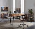 Regal Schwarz/Naturfarben - Schwarz/Naturfarben, LIFESTYLE, Holz/Holzwerkstoff (83/83/40cm) - Mömax modern living