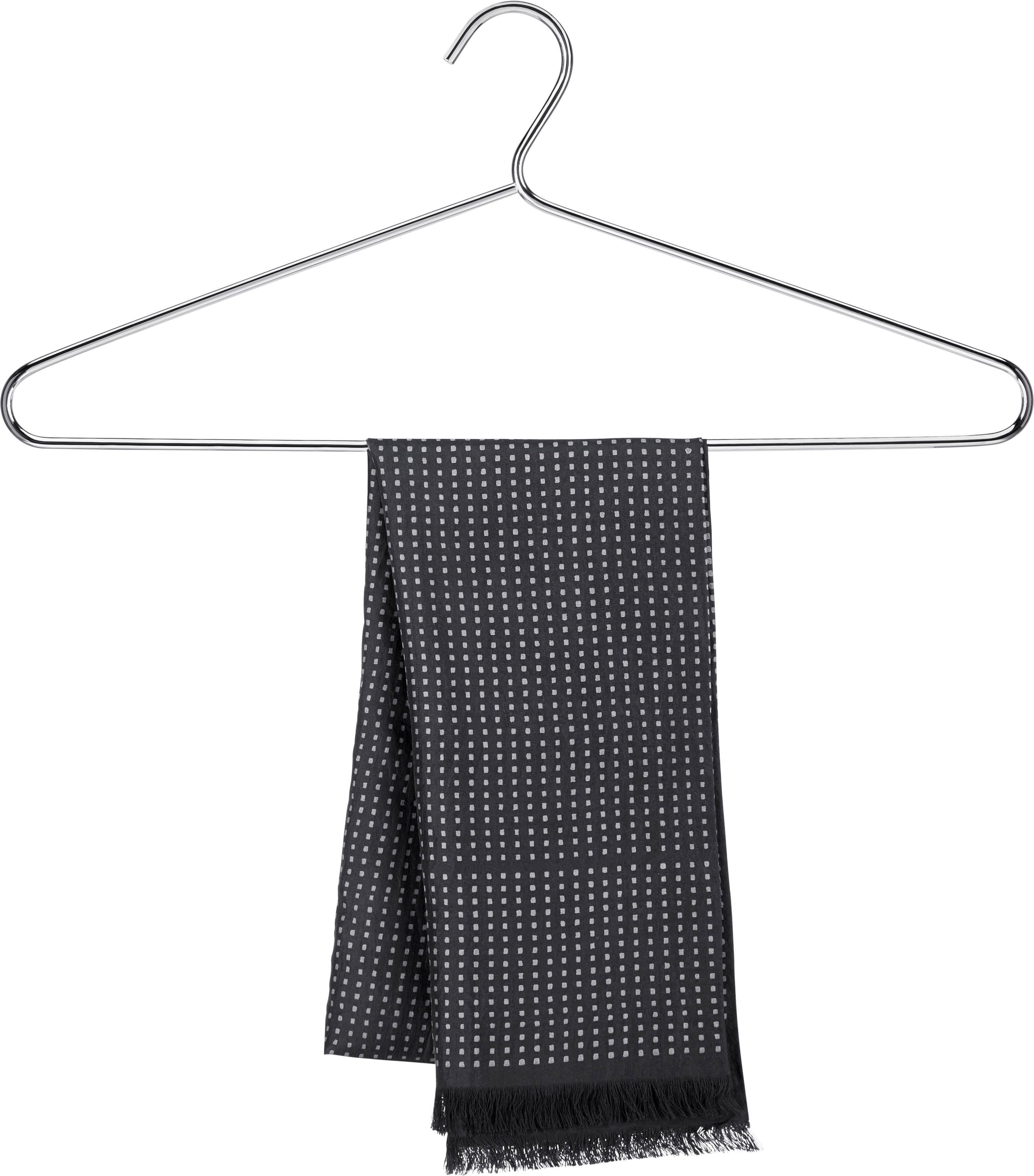 Vállfa Szett Brunni-5 - krómszínű, konvencionális, fém (42/18cm) - CARRYHOME