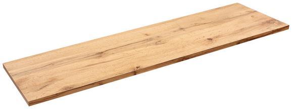 Falipolc Skate 120/30 - tölgy színű, modern, faanyagok (120/1,8/30cm)