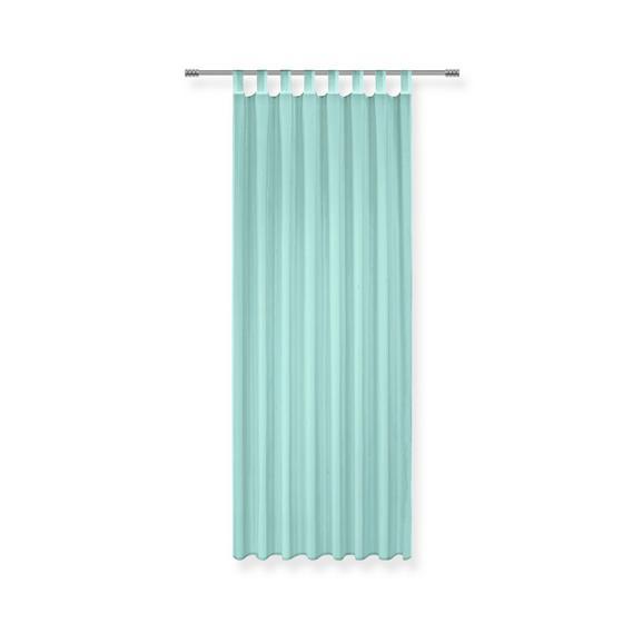 Perdea Cu Bride Hanna - albastru, textil (140/245cm) - Based