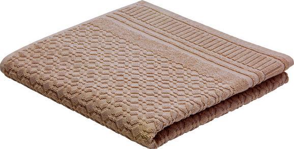 Brisača Carina - siva, Romantika, tekstil (70/140cm) - Mömax modern living