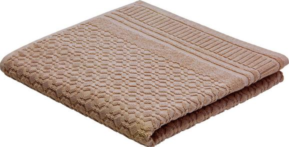 Brisača Carina -top- - siva, Romantika, tekstil (70/140cm) - Mömax modern living