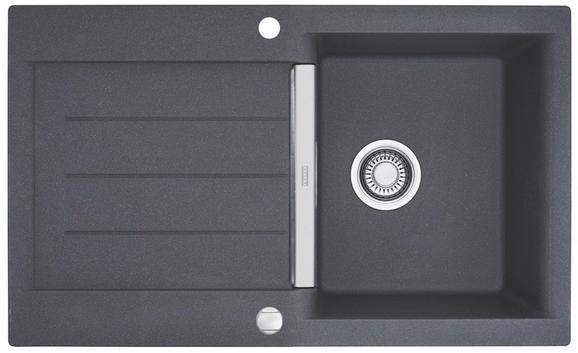 Spüle Java - Jag 611 - Grau, MODERN (86/20/51cm)