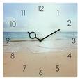 Wanduhr Holiday Time, ca. 30x30x3,5cm - Multicolor, MODERN, Glas/Metall (30/30/3,5cm) - Mömax modern living