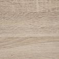 Schreibtisch Julian ca.150x70cm - Eichefarben/Schwarz, MODERN, Holz/Metall (150/70/75cm) - Modern Living