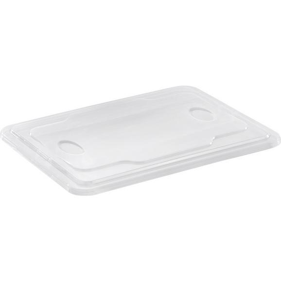 Deckel Selina ca. 14,5 L - Transparent, Kunststoff