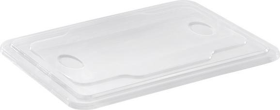 Doboztető 14,5 Literes Dobozhoz - Áttetsző, Műanyag
