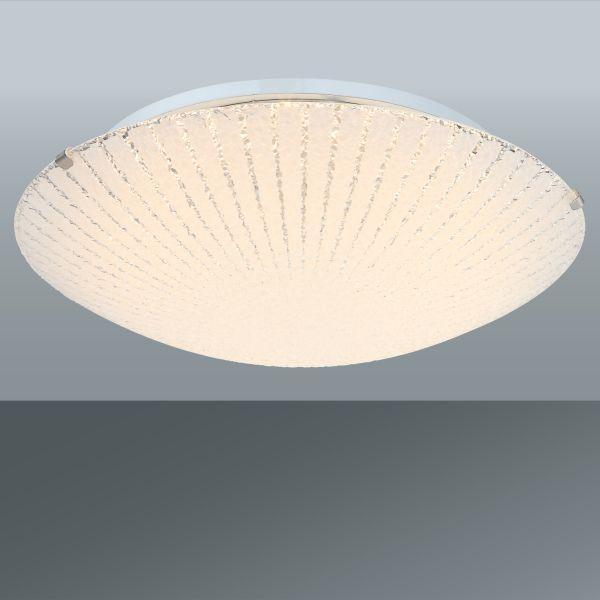 Mennyezeti Lámpa Margret - konvencionális, üveg/fém (30/10cm) - MÖMAX modern living
