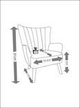 Wohnsessel Dora - Hellgrau, MODERN, Holz/Textil (76,5/91/81,5cm) - Mömax modern living