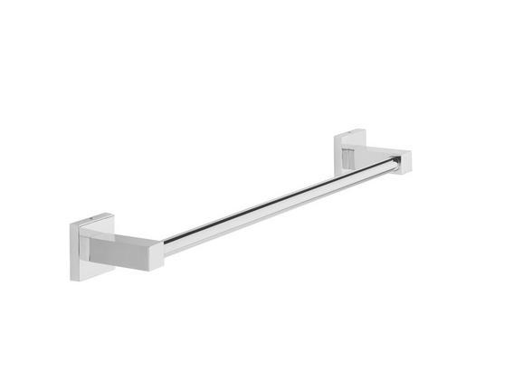 Handtuchhalter in Chromfarben - Chromfarben, Metall (48/5/7cm) - Mömax modern living