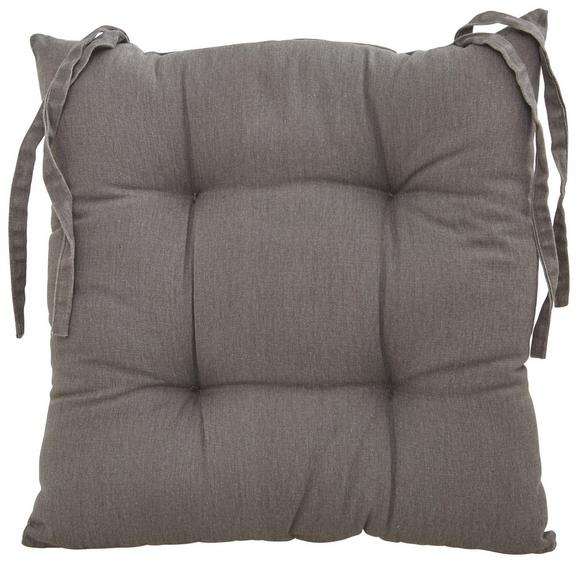 Sitzkissen Steven 40x40 cm - Grau, Textil (40/40cm) - Mömax modern living