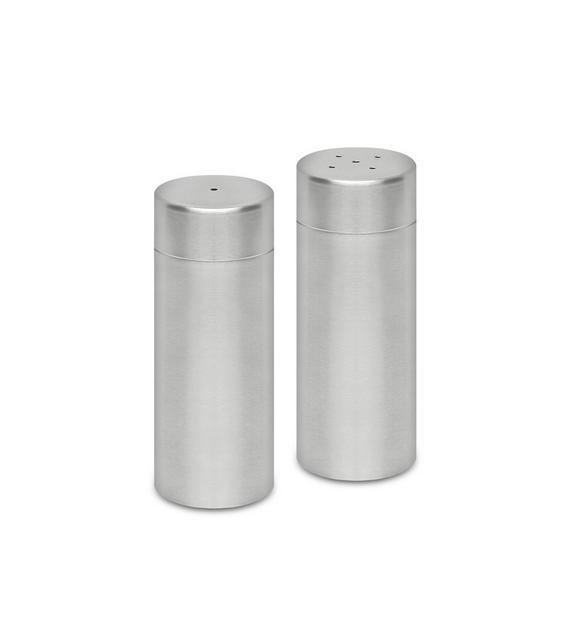 Salz- und Pfefferstreuer Daniel - Edelstahlfarben, Metall (4/11cm) - MÖMAX modern living