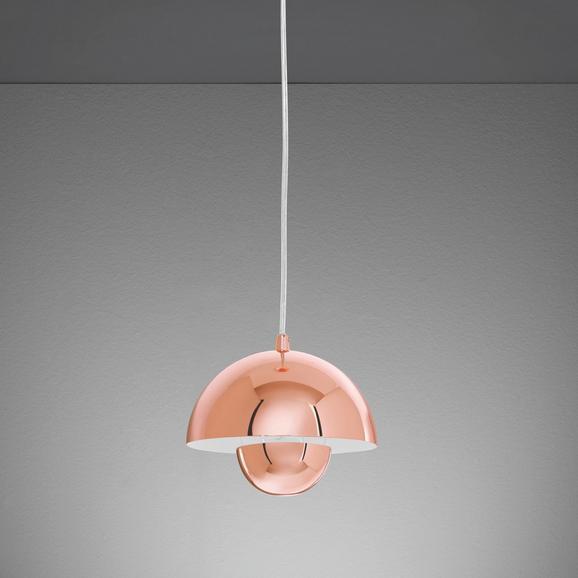 Hängeleuchte Jazzy - Kupferfarben, Metall (20/20/120cm) - MÖMAX modern living