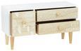 Dekorativna Komoda Mira - naravna/bela, Romantika, leseni material (30/17,5/13,5cm) - Mömax modern living
