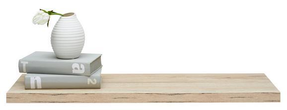 Wandboard in Eiche - Eichefarben, Holz/Holzwerkstoff (78/3/25cm) - Modern Living