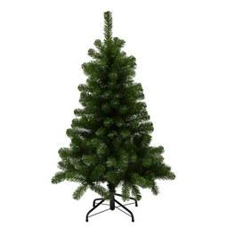 Weihnachtsbaum Charlton aus Kunststoff - Grün, Kunststoff (76/120cm)