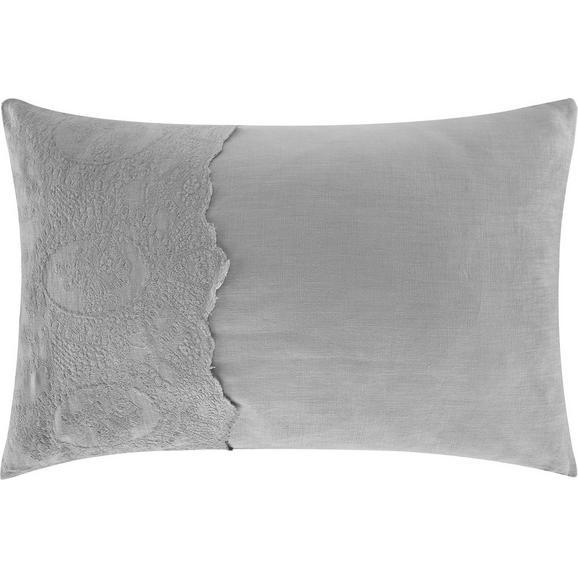 Kissen Melinda ca.40x60cm in Grau - Grau, ROMANTIK / LANDHAUS, Textil (40/60cm) - Mömax modern living
