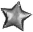 Zierkissen Stars Versch. Farben 40x40cm - Silberfarben/Goldfarben, Textil (40/40cm) - Mömax modern living