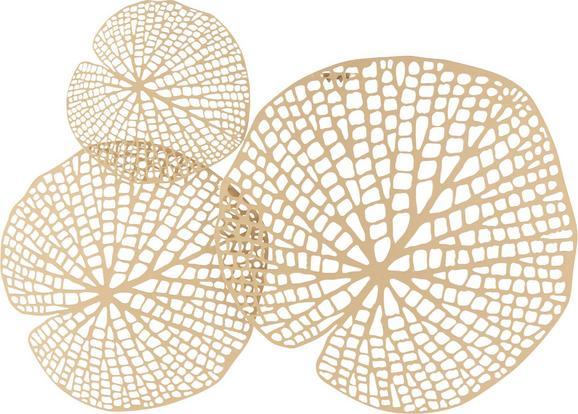 Wanddeko Toy Goldfarben - Goldfarben, LIFESTYLE, Metall (64,5/52/2cm) - Mömax modern living