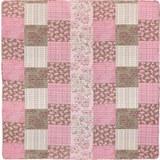 Tagesdecke Patch Rosa ca. 230x230cm - Rosa, ROMANTIK / LANDHAUS, Textil (230/230cm) - Mömax modern living