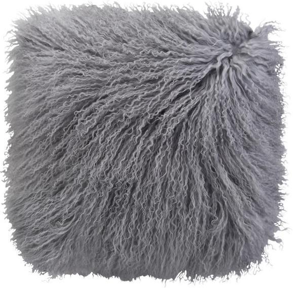 Zierkissen Shaun in Grau, ca. 40/40cm - Grau, Textil (40/40cm) - PREMIUM LIVING